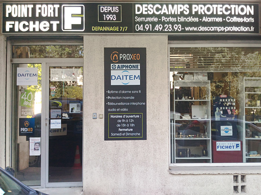 Descamps Protection, Point Fort Fichet, Serrures et portes blindées